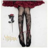 Yidhra Lolita ~Forest of Thorns Sleeping Beauty~ Summer Lolita Tights