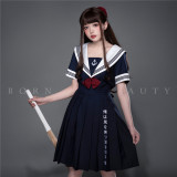YUPBRO Lolita ~Sailor Style Embroidery Lolita OP - Ready Made