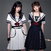 YUPBRO Lolita ~Sailor Style Embroidery Lolita OP -Pre-order