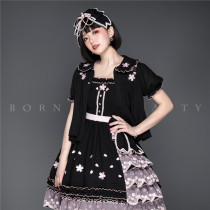 YUPBRO Lolita ~Cherry Blossoms Embroidery Lolita OP/JSK~ Pre-order