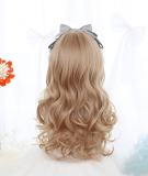 Melissa~ Natural Sideburns Long Curls Lolita Wig