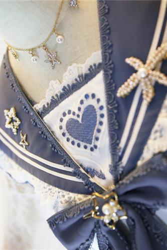Nine Odes ~Star In the Sallow Sea Lolita Accessories -Pre-order