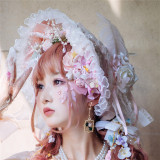 Sakura Maiden Luxury Lolita Accessories -Ready MADE