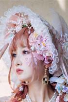 Sakura Maiden Luxury Lolita Accessories -Ready MADE
