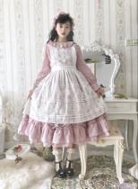 Culumi ~ Alice Cotton Hollow Jacquard Apron - In Stock