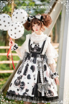 Sakuya Lolita ~Sesame Milk Summer Lolita JSK - Ready Made
