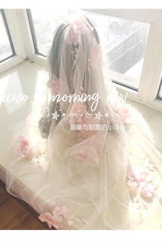 Morning Dew Tea Party Lolita Accessories -Ready MADE