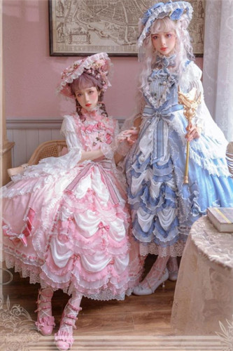 Elpress L ~Back to Versailles Lolita JSK -Ready Made