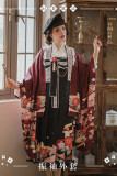 NyaNya Lolita Boutique ~Camellia Ballad Furisode Sleeves Haori Coat -Ready Made