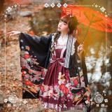 NyaNya Lolita Boutique ~Camellia Ballad Lolita Printed JSK -Ready Made