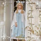 NyaNya Lolita Boutique ~Sakura In the Spring Lolita JSK/Skirt -2 Wear Ways Ready Made