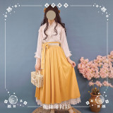 NyaNya Lolita Boutique ~Sakura In the Spring Lolita Blouse Kimono Version -Ready Made