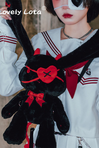Devil Rabbit Plush Lolita Bag -Ready Made