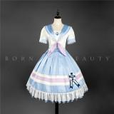 YUPBRO Lolita ~Slight Sweet Sailor Style Lolita OP -Pre-order
