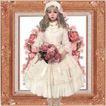 Foxtrot Lolita~Yennefer~  Fairy Rose Princess Lolita OP -Pre-order