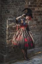 Odile~ Gothic Embroidery Lolita JSK Dress - Pre-order