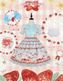 Magic Tea Party ~ Berry Sweet  Lolita OP -Pre-order