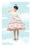 Magic Tea Party ~ Berry Sweet  Lolita JSK -Pre-order