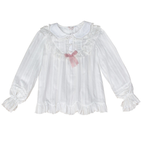 Soft Doll Collar Cotton Lolita Blouse