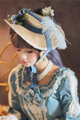 Miss Point ~ Elizabeth Meow ~ Luxury Lolita Accessories