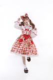 Tommy Bear ~Little Bear Picnic Lolita High Waist JSK -Pre-order