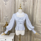 Little Dipper ~Evelina Vintage Lolita Blouse -Ready made