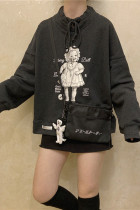 Sweet Doll High-neck Hoodie