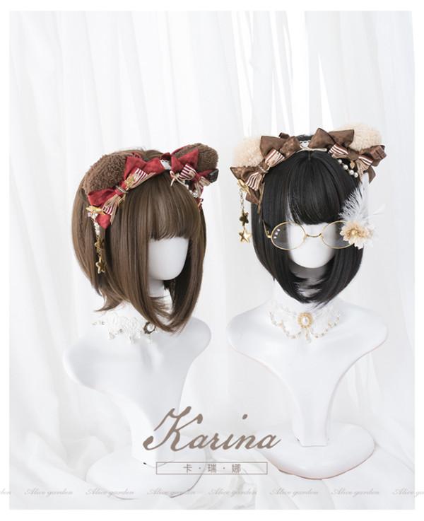 Alice Garden ~Karina ~Lolita bobo Short Wigs