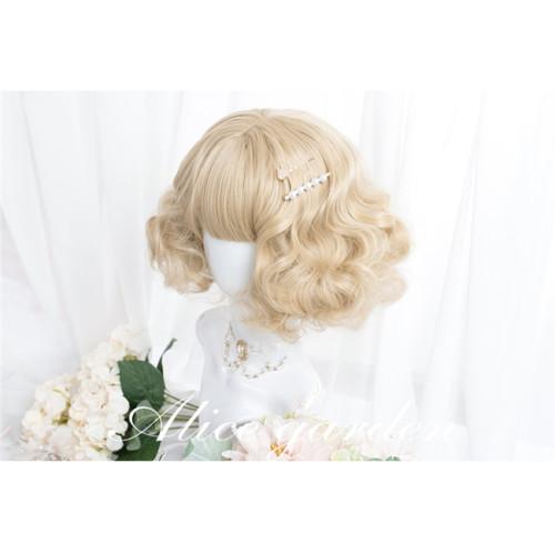 Alice Garden ~Snowy ~Lolita Curl Wigs