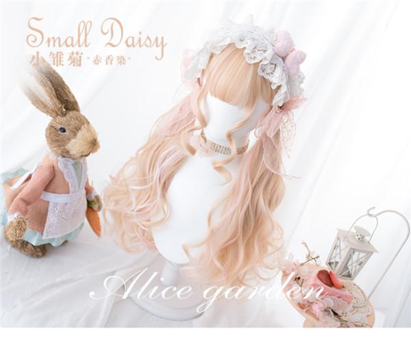 Alice Garden ~ Small Daisy ~Lolita Long Curl Wigs