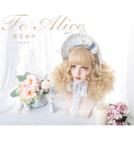 Alice Garden ~ to Alice ~Lolita Long Curl Wigs