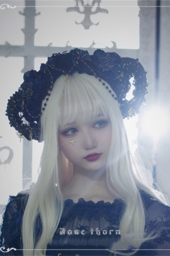 Spider Nest~ Headbow Lolita Accessories