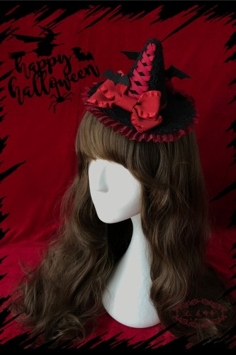 Hat Bat Halloween~ Lovely Lolita Hat For Halloween