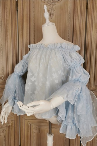 Flower Fairy in the Moonlight ~Chiffon Lolita Blouse