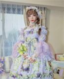 Flower Fairy in the Moonlight ~Chiffon Lolita Blouse