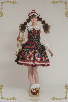 CEL Lolita ~The Greatest Bear Lolita Salopette -Pre-order