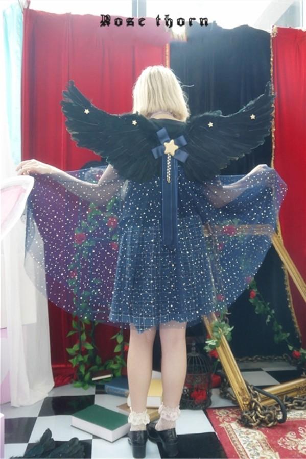 Night Starlight~ Wings Lolita Accessories