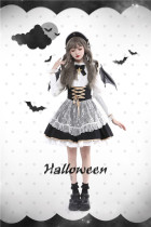 Tommy Bear ~Doll Paradise~ Halloween Lolita Salopette -Pre-order