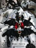 Little Bat Cross Hairclip~ Lolita Accessories