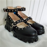The Butterfly Effect ~Punk Lolita High Platform Shoes