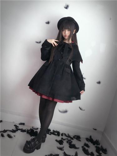 Tommy Bear ~To Alice~ Woolen Lolita Coat -Pre-order