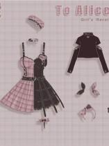 Tommy Bear ~To Alice~ Magic Trainee Plaid  Lolita Accessories -Pre-order