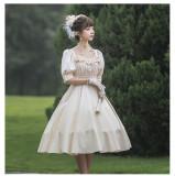 Carroll Manor~Elegant Daily Lolita OP -Ready Made