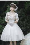 Carroll Manor~Elegant Daily Lolita OP -Ready Made