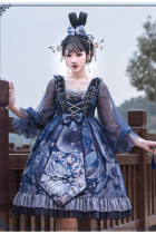 Ying Luo Fu~Unicorn~ Vintage Gothic Lolita OP