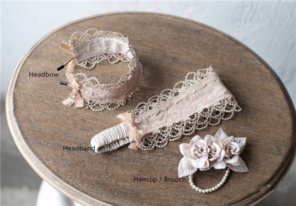 Sweet Dreamer~Miss Jenny ~Vintage Lace Lolita Accessories