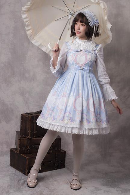 Ying Luo Fu~Unicorn~ Stars Lolita JSK