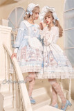Alice Girl ~Angel Print 2.0 Girl's Room Lolita OP -Pre-order