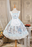 Alice Girl ~Angel Print 2.0 Girl's Room Lolita Apron Lolita Accessories -Pre-order
