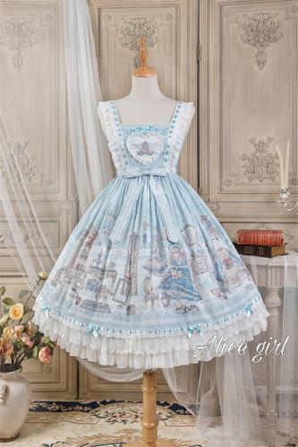 Alice Girl ~Angel 2.0 Girl's Room Lolita JSK -Pre-order